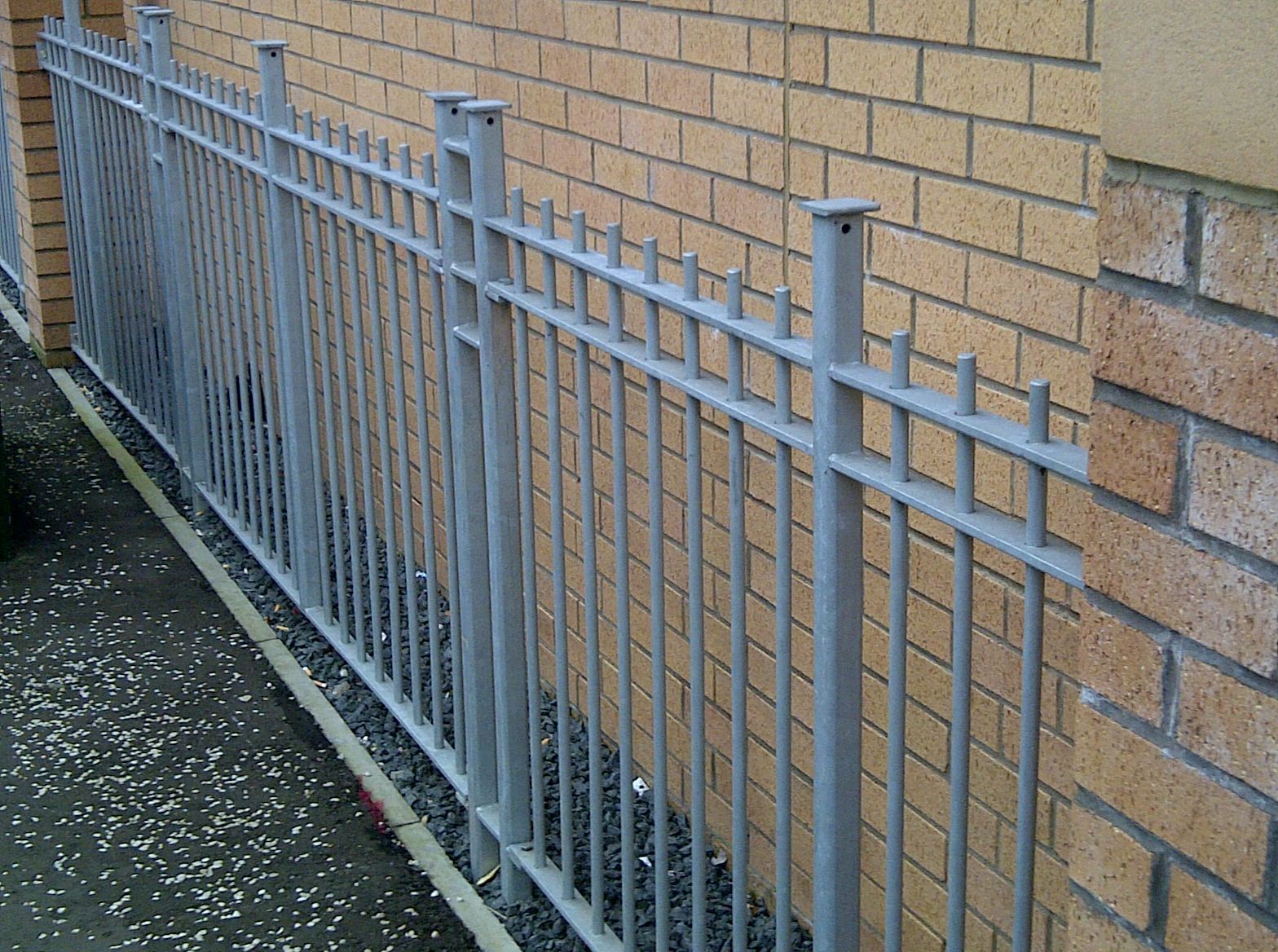 Bespoke railings, Architectural metalwork
